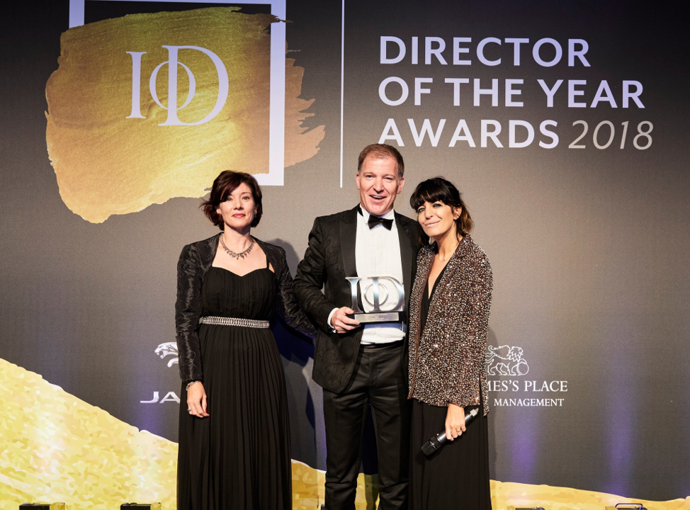 Danny Brooks IoD Director of the Year Awards