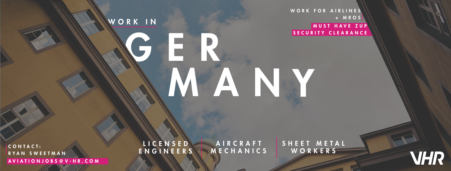 Aviation Jobs in Germany