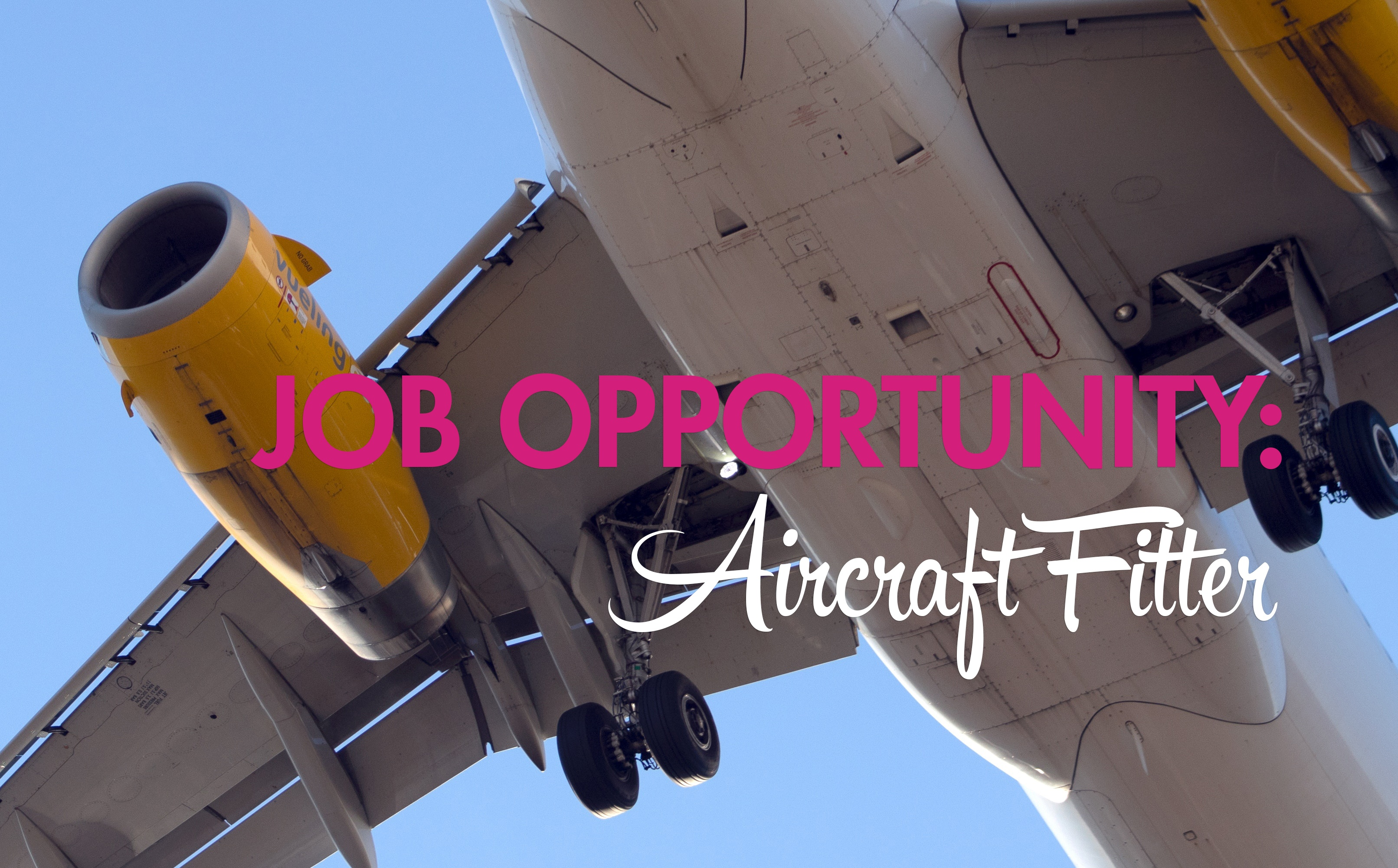 Job opportunity- aircraft fitters