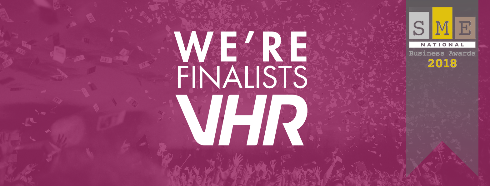 SME National Business Awards 2018 Finalists VHR Technical Recruitment
