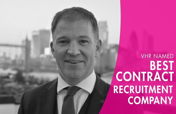 VHR wins best contract recruitment company at REC awards recruitment awards