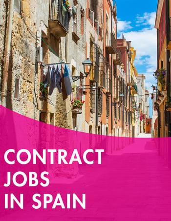contract jobs in spain
