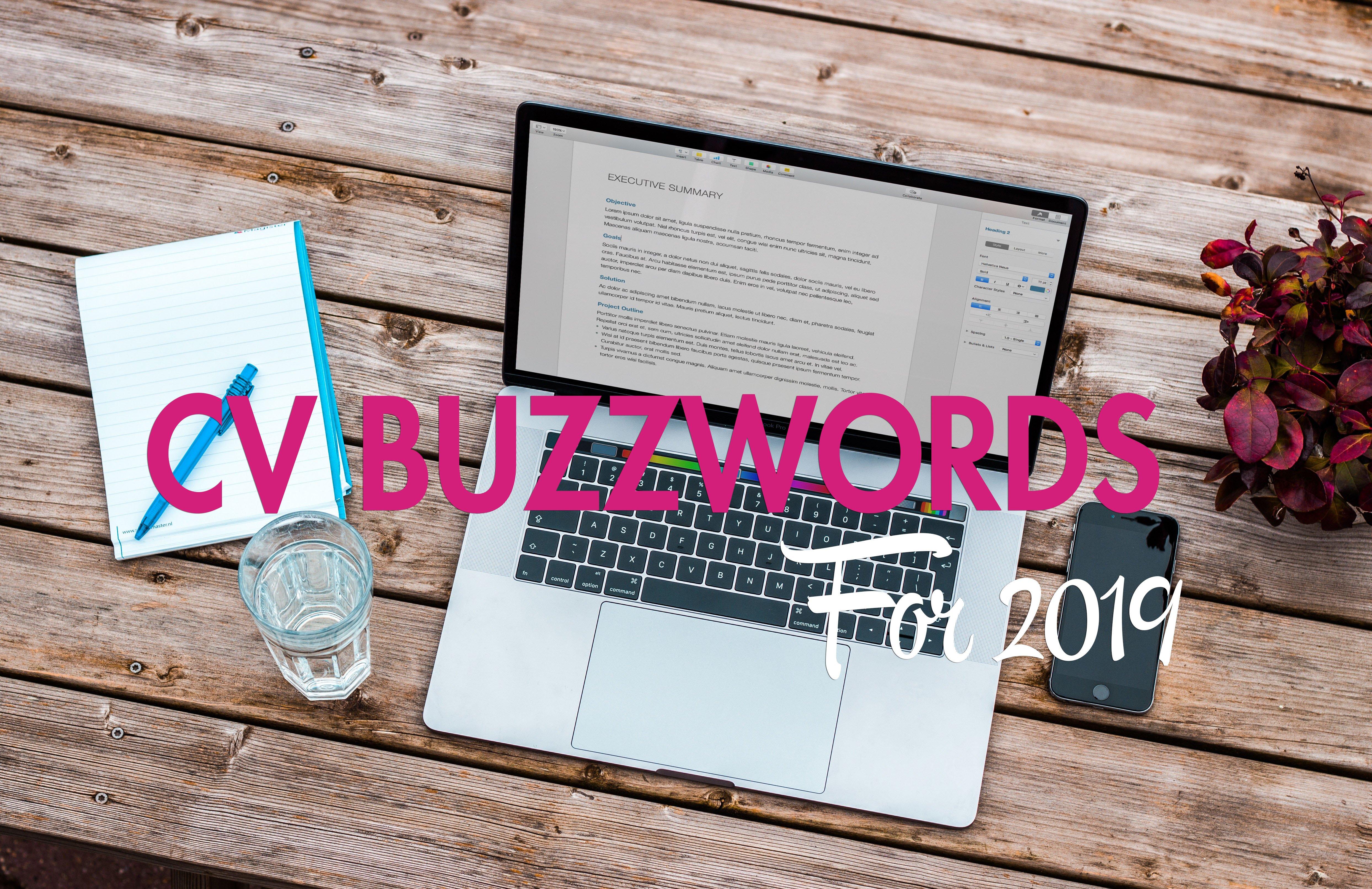 cv buzzwords 2019