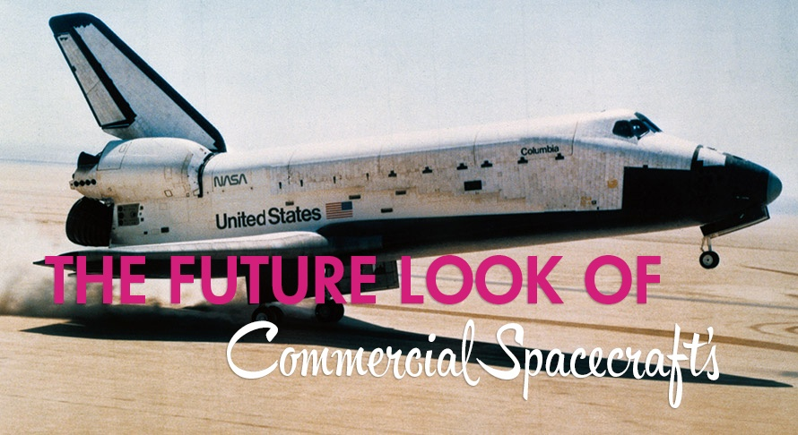 the future look of commercial spacecraft