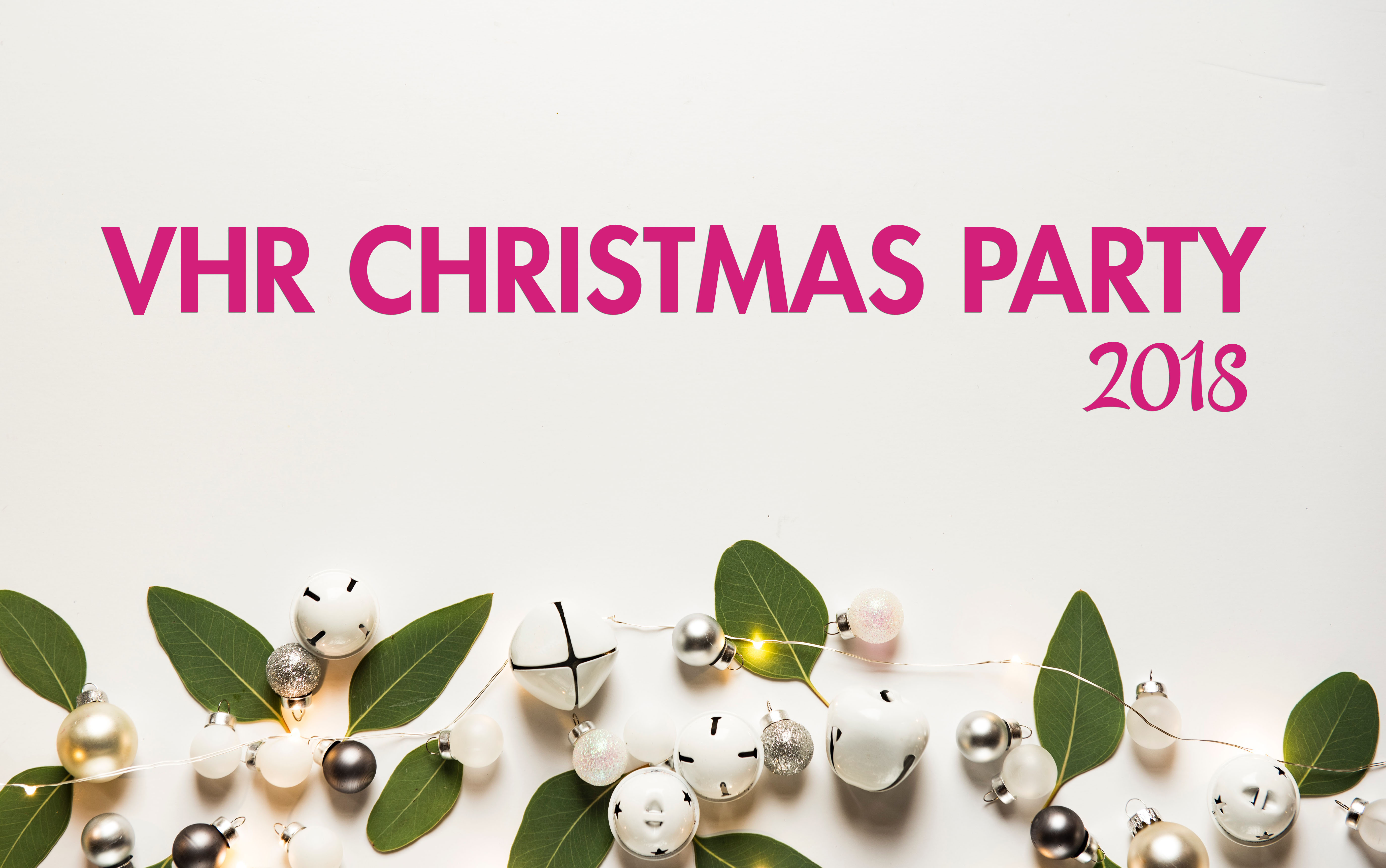 vhr christmas party 2018