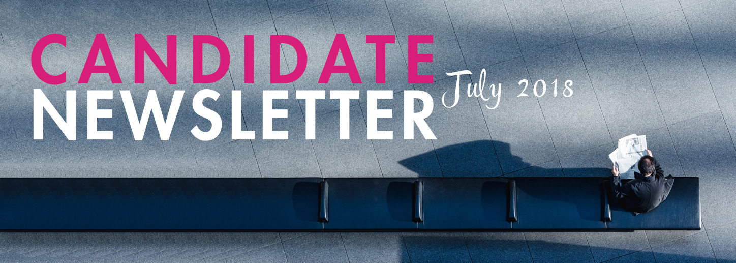 Candidate Newsletter