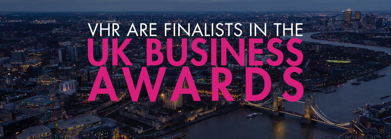 VHR Finalists UK Business awards