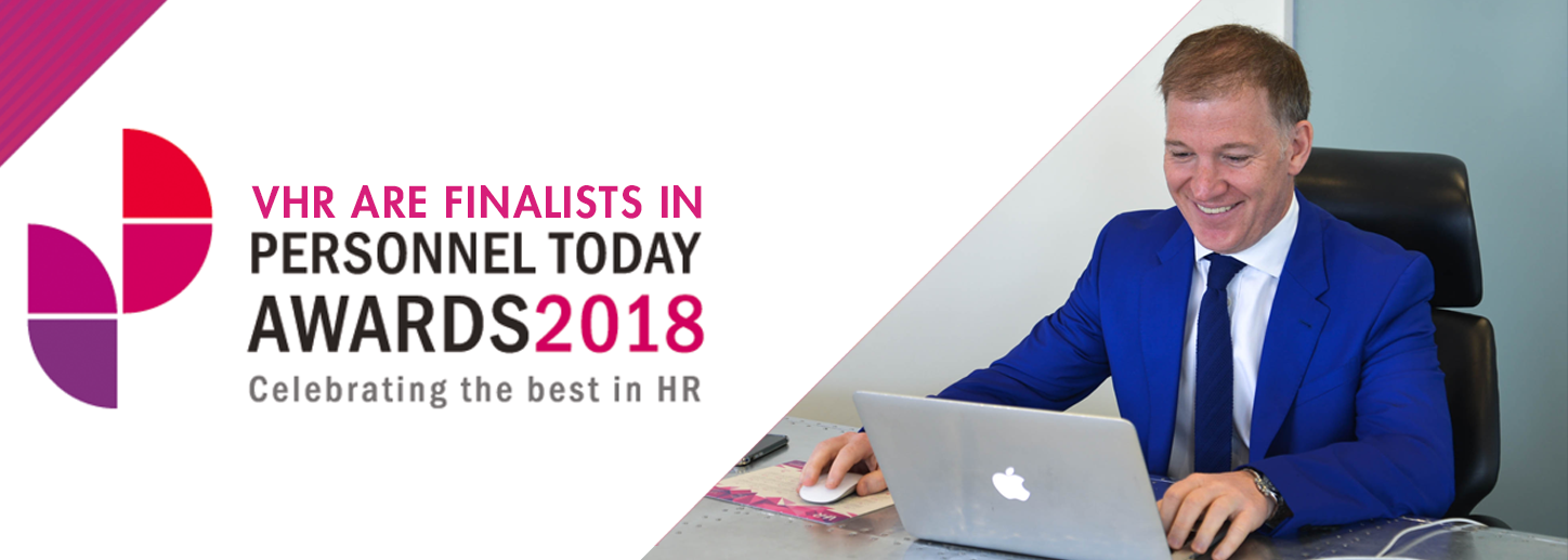VHR are finalists in personnel today